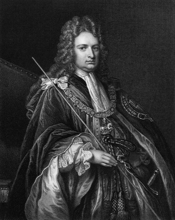 statesman: Robert Harley, 1st Earl of Oxford and Earl Mortimer (1661-1724) on engraving from 1830. British politician and statesman. Engraved by W.T.Mote and published in Portraits of Illustrious Personages of Great Britain,UK,1830.