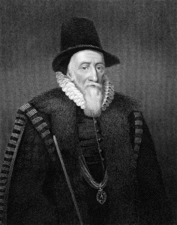 illustrious: Thomas Sackville, 1st Earl of Dorset (1536-1608) on engraving from 1829. English statesman, poet, and dramatist. Engraved by T.Wright and published in Portraits of Illustrious Personages of Great Britain,UK,1829.