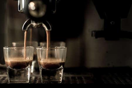 Espresso coffee Foto de archivo