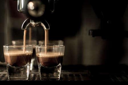 Espresso coffee Standard-Bild