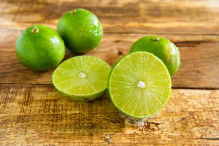 seasoning: Lime,Seasoning, Fresh herbs food background with copy space