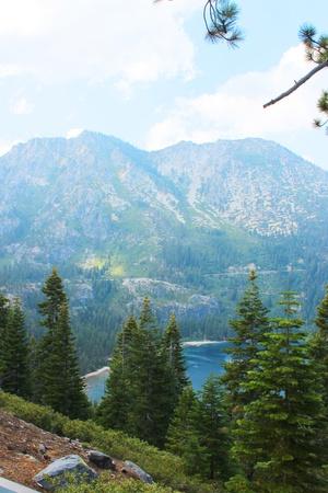 Emerald Bay of Lake Tahoe Stock Photo