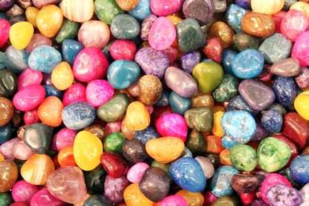 Colorful stones Stock Photo