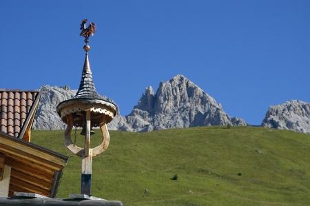 a nice view of italian alps