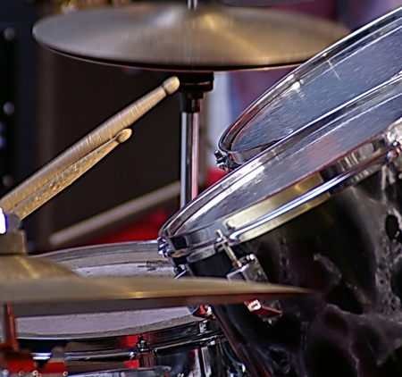 drum: a nice view of a drum player