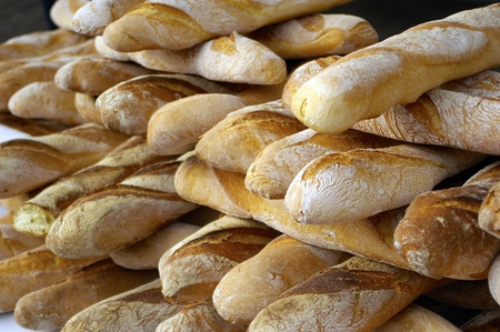 a nice view of bread