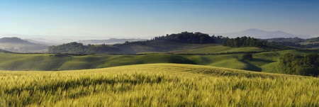 a nice view of italian landscape