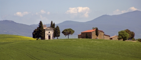 a nice view of italian landscape photo