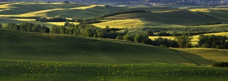 a great view of italian landscape photo