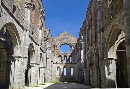 Tuscan,abbey of SanGalgano,Italy Editorial