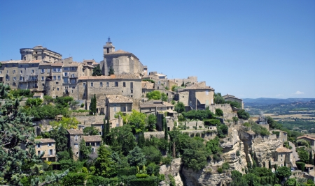 gordes: Gordes,Provence,France Stock Photo