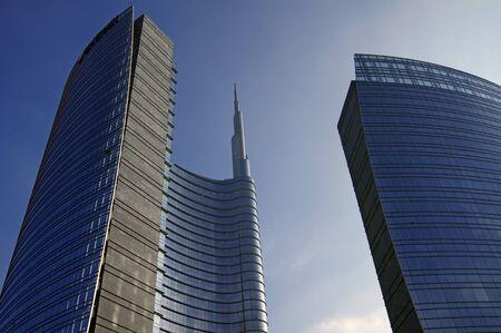 milano: skyscraper in Milan,Italy Stock Photo