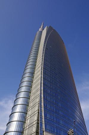 skyscraper in Milan,Italy Editorial