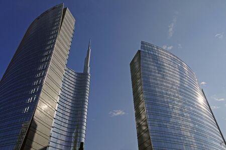 skyscraper in Milan,Italy