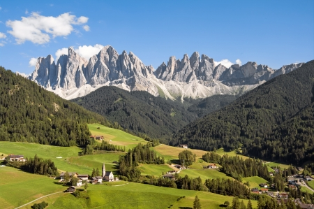 Odles,south tyrol,Italy  great view of dolomites