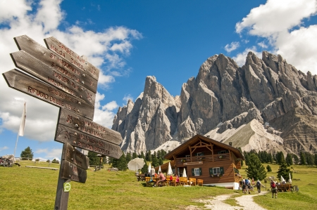 sudtirol: Odles,south tyrol,Italy  great view of dolomites
