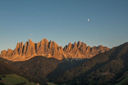 Odles,south tyrol,Italy  great view of dolomites photo