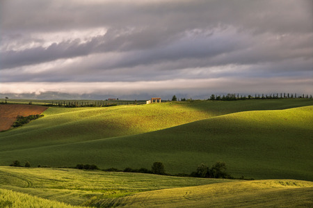 great view of landscape,Tuscany,Italy