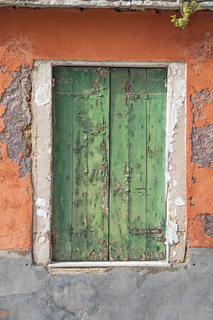 old window in Venice,Italy