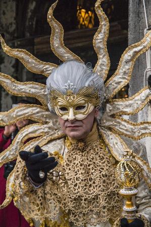carnival mask in Venice,Italy Editorial