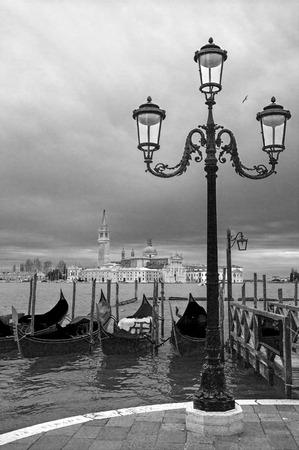 artisctic view of Venice,Italy Stock Photo