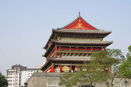 historical sites: Is located in China s shaanxi province xi  an ancient drum tower, is the famous scenic spots and historical sites in the world
