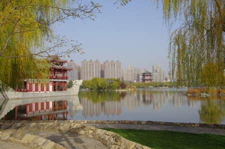 tang: Scenery at Tang Paradise, Xian