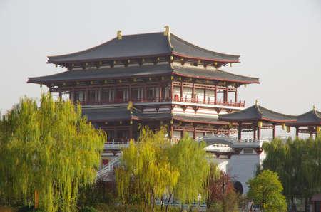 tang: Scenery at Tang Paradise park at Xian