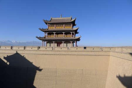 jiayuguan: Scenery at the Jiayuguan, Gansu