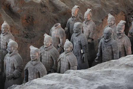 terra cotta: Xi an, the Terra Cotta Warriors Editorial