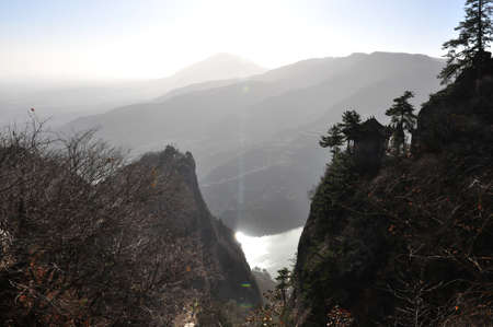 physical geography: Gansu province of out kongdong mountain