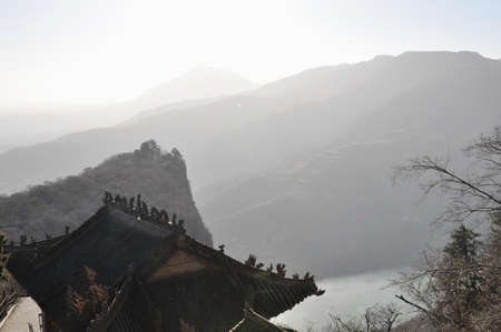 physical geography: kongtong mountain scenery