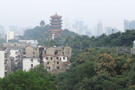 wuhan: Chinas hubei province, wuhan yellow crane tower.