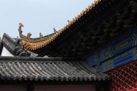 Chinas hubei wuhan, yuan temple