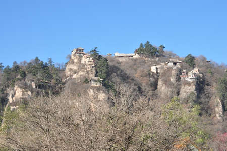 kongtong mountain scenery