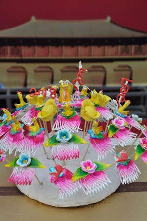 Special snacks, a traditional food: steamed buns. 版權商用圖片