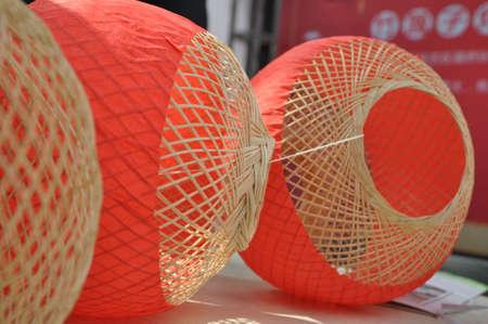 Bamboo weaving lanterns