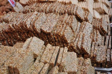 Pastry, shortbread, is a delicious snack.