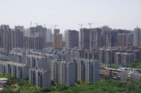 Apartments in a residential area
