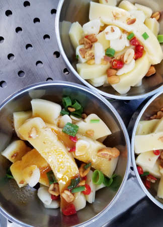 Jiaotuan is a kind of delicious food in shaanxi and xi 'an.