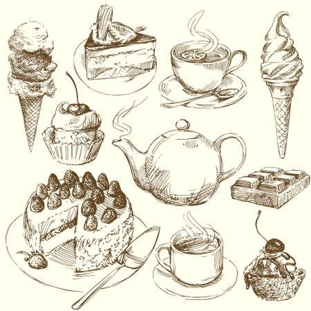 postre: colecci�n de dulces