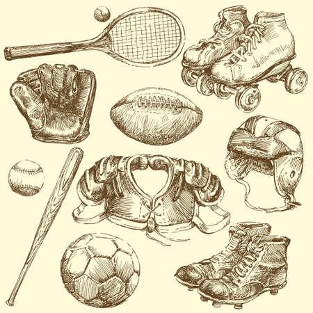 shrill: vintage sports equipment