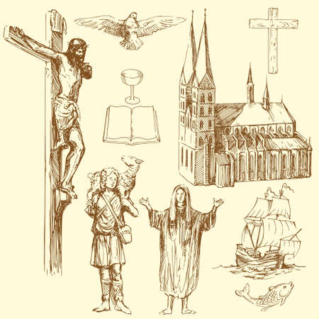 crucifixion: christianity, religion