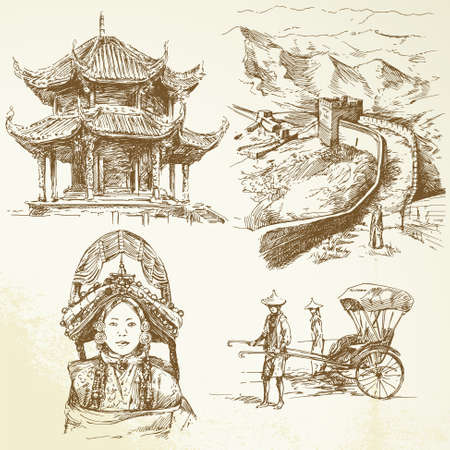 great wall of china: chinese heritage