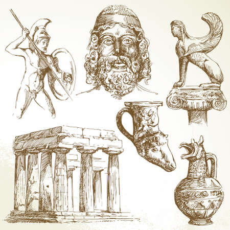ancient greece Stock Vector - 13355873