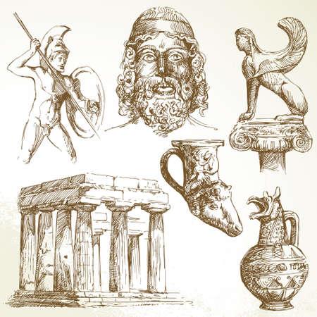 ancient greece Stock Vector - 13355873