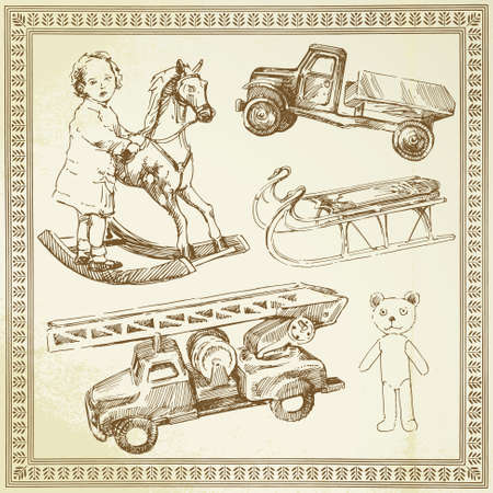 hand truck: vintage toys