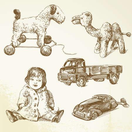 antique car: vintage toys