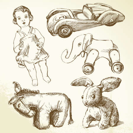 brown hare: vintage toys