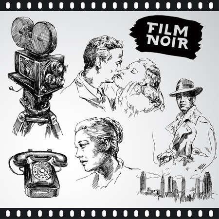 cine negro - colección vintage